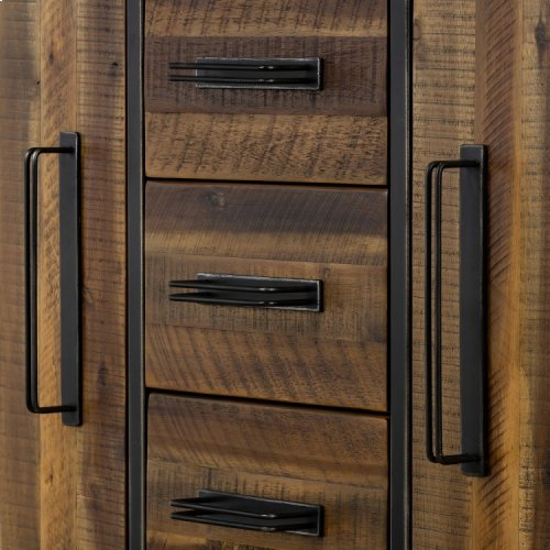 Cusco Acacia Rustic Buffet Cabinet