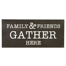 "Laser Cut ""Family & Friends"" Wall Decor"