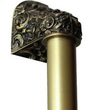 Acanthus - Antique Brass Plain Bar
