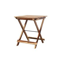 Sheesham Accents Square Table, ART-246