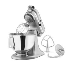 4.5-Quart Tilt-Head Stand Mixer - Silver Metallic