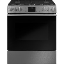"Café 30"" Smart Slide-In, Front-Control, Gas Range with Convection Oven"