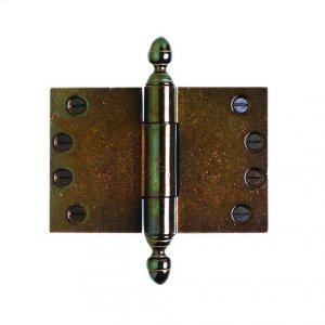 """Butt Hinge (wide throw) - 4"""" x 6"""" Silicon Bronze Brushed Product Image"""