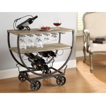 Wine Rack Cart