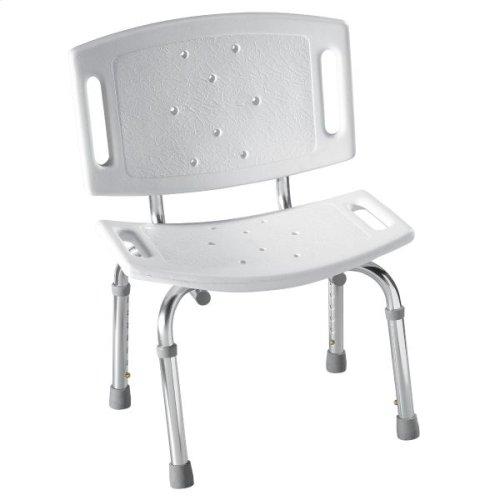 Moen Home Care white shower seat
