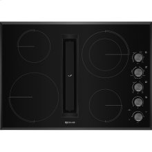 "30"" JX3™ Electric Downdraft Cooktop, Black"