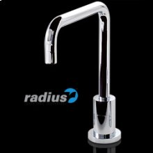 Nirvana Touchless Faucet With Grid Drain In Polish