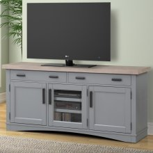 Americana Modern Dove 63 in. TV Console