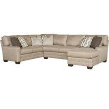 Bentley LAF Corner Sofa, Bentley Armless Loveseat, Bentley RAF One Arm Chaise