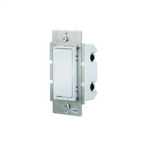 GE In-Wall Paddle Switch (for Works with Ring Alarm Security System) - White Product Image