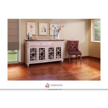 "70"" Console 3 Drawer, 4 Doors"