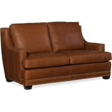 Bradington Young Young Stationary Loveseat 8-Way Tie 675-75