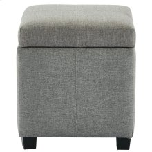 Juno Square Storage Ottoman in Grey