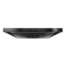12V RV Ducted Range Hood with Charcoal Filter - Black