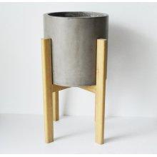 Modrest Polk Modern Concrete Round Planter