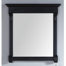 "Brookfield 39.5"" Mirror, Antique Black"