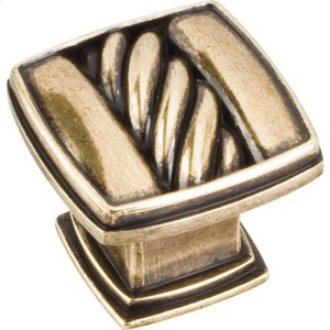 "1-3/16"" Cable Square Cabinet Knob. Product Image"