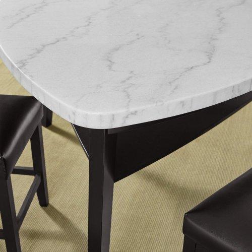 "Carrara BlackPU Storage Counter Bench 42"" x 17"" x 26"""