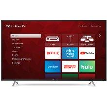 "TCL 55"" Class 4-Series 4K UHD HDR Roku Smart TV - 55S405"