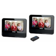 """7"""" Dual Screen Mobile DVD System"""