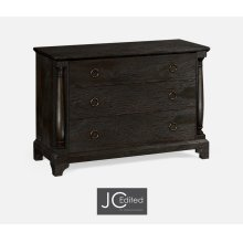 Large Dark Ale Chest of Drawers