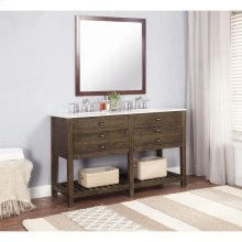2 Drw Double Sink Vanity