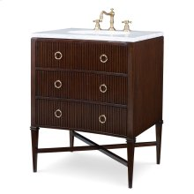 Reeded Sink Chest