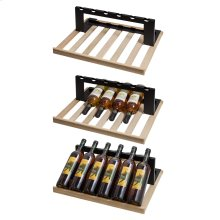 Set of 2 Shelves To Display Wine In Swc1775 or Swc1735c Commercial Wine Cellars