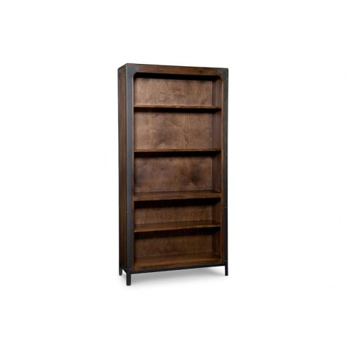 Portland Bookcase w/3 Adjustable shelves