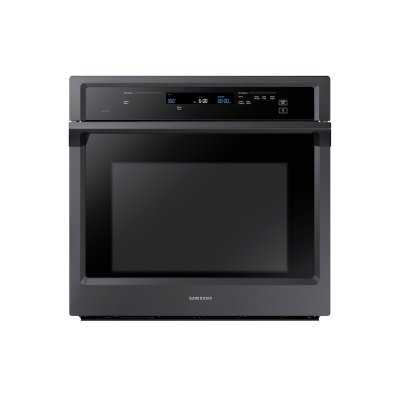 """30"""" Single Wall Oven in Black Stainless Steel Product Image"""
