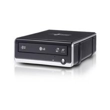External Super-Multi DVD Rewriter with LightScribe and SecurDisc
