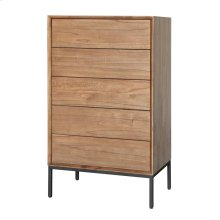 Hathaway Chest 5 Drawers, Newton Brown