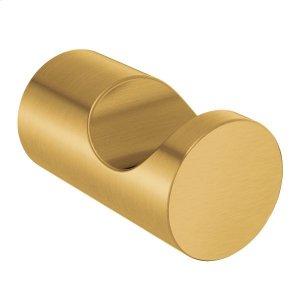 Align brushed gold single robe hook Product Image