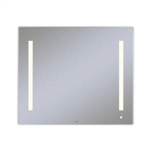 """Aio 35-1/8"""" X 29-7/8"""" X 1-1/2"""" Lighted Mirror With Lum Lighting At 2700 Kelvin Temperature (warm Light), Dimmable and Usb Charging Ports Product Image"""