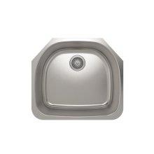 ProInox E350 Single Bowl Undermont Kitchen Sink ProInox E350 18-gauge Stainless Steel, 21-1/4'' X 18-3/4'' X 9''