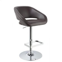 Modrest Joel - Contemporary Brown Eco-Leather Bar Stool