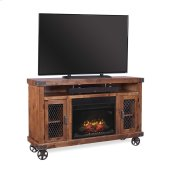 """62"""" Fireplace Console"""