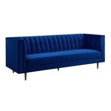 Sebastian Navy Velvet Sofa