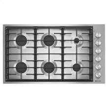"Euro-Style 36"" 6-Burner Gas Cooktop"