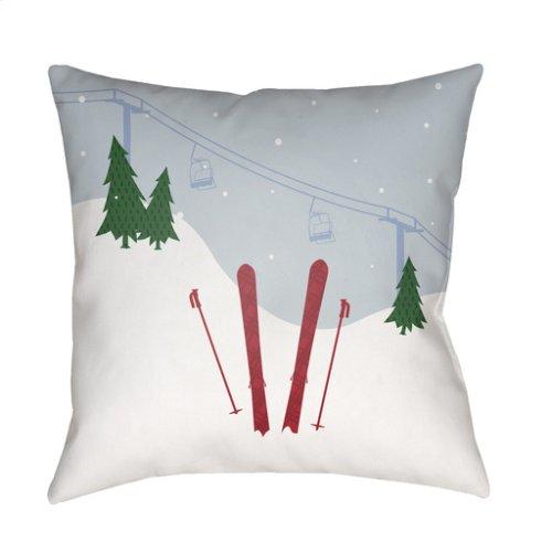 "Set Of Skis SKI-010 18"" x 18"""