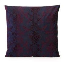 Nicolette Large Flocked Damask Pillow