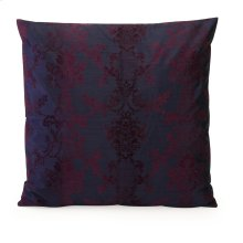 Nicolette Large Flocked Damask Pillow