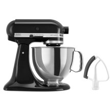 Artisan® Series 5 Quart Tilt-Head Stand Mixer with Flex Edge Beater - Onyx Black