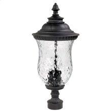 3 Lamp Outdoor Post Lantern