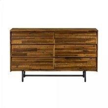 Cusco Rustic Acacia 6 Drawer Dresser