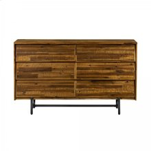 Cusco Rustic Acacia 6 Drawer Dresser