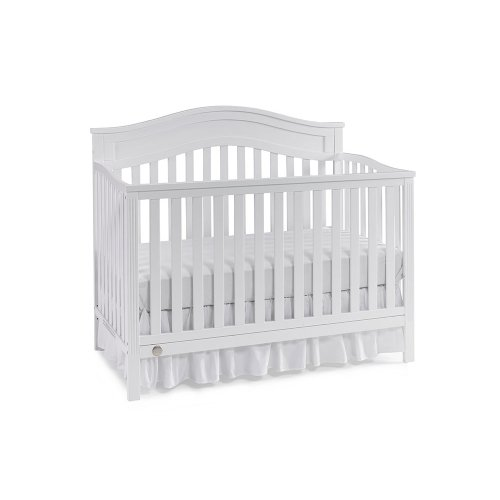 Fisher-Price Aubree Convertible Crib, Snow White