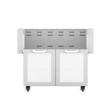 "36"" Hestan Outdoor Tower Cart with Double Doors - GCD Series - Froth"