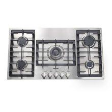 "Stainless Steel 36"" Gas 5 - Burner Designer Series - Floor Model"