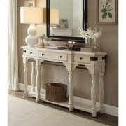Regan - Server - Farmhouse White Finish Product Image